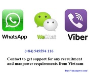 Healthcare manpower service from Vietnam
